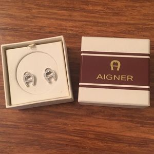 Like New!! Aigner Earrings.